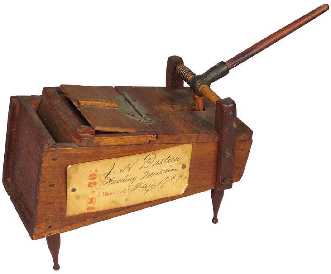 Salesman's Sample Washing Machine, cA 1870