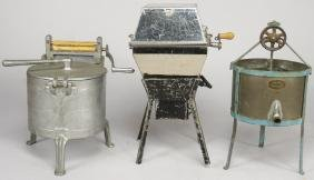 Collection of Toy Hand Crank Washers