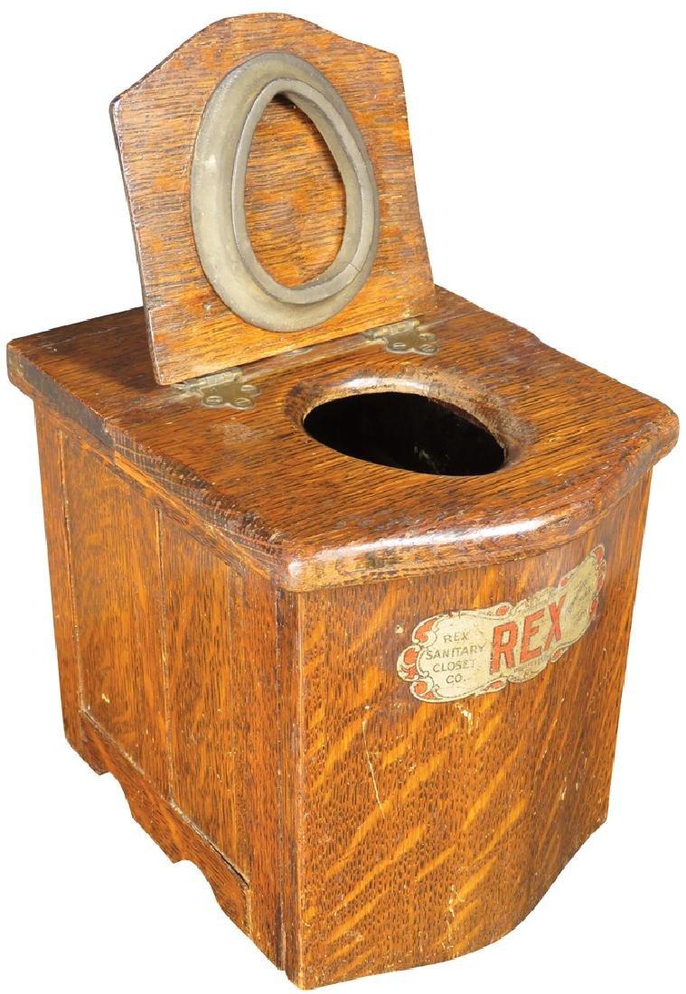 Rex Sanitary Closet Salesman's Sample - 2