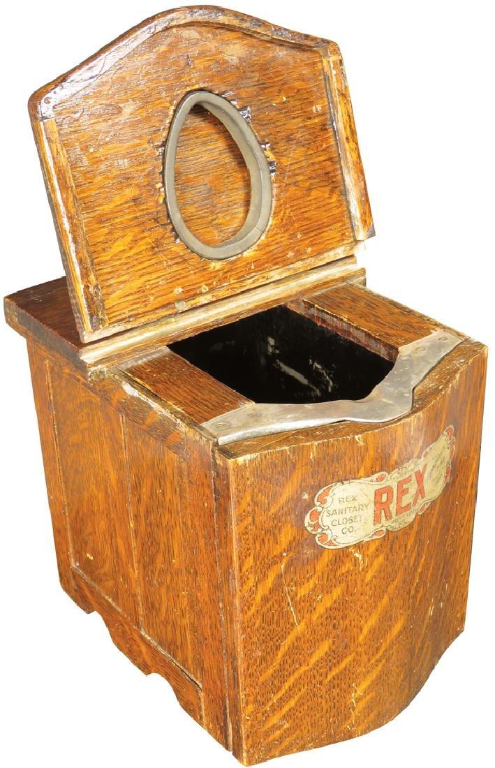 Rex Sanitary Closet Salesman's Sample - 3