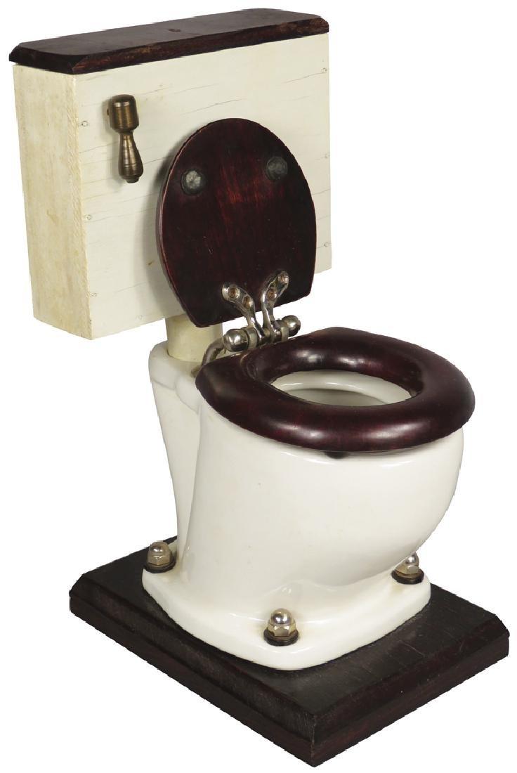 Salesman's Sample Toilet