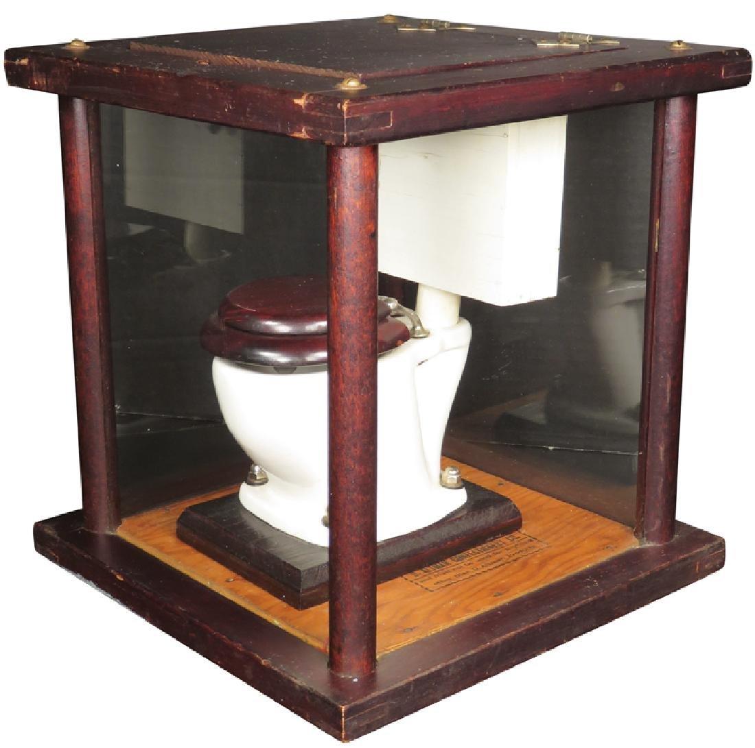 Salesman's Sample Toilet - 2