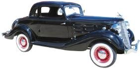 1934 Hudson 8 Coupe
