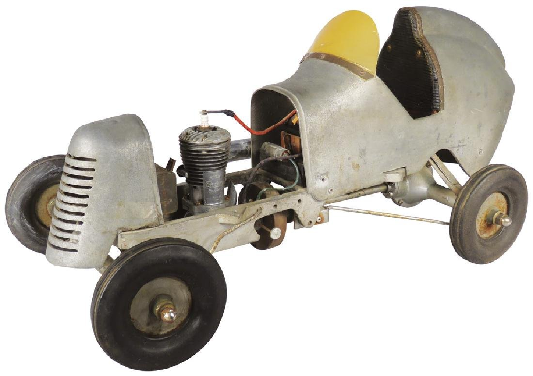 Miniature Tethered Gas Powered Race Car