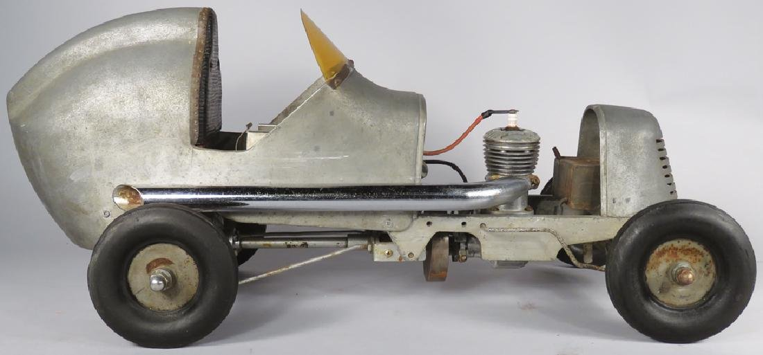 Miniature Tethered Gas Powered Race Car - 2
