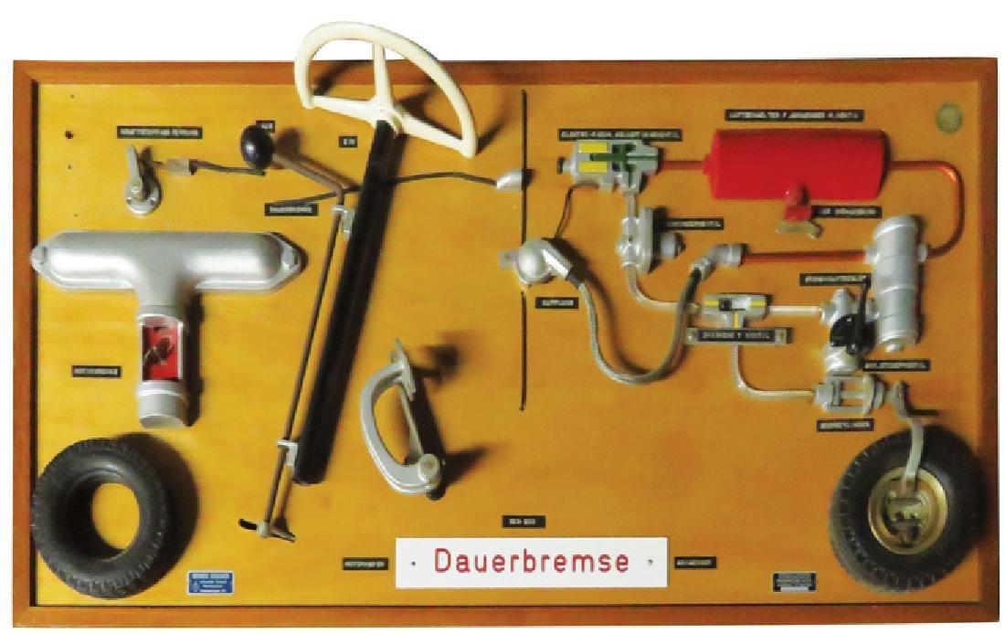 Werner Degener Wall Mount School Model