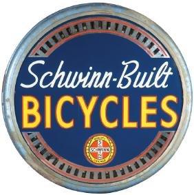 Schwinn Bicycles Spinner Light Up Sign