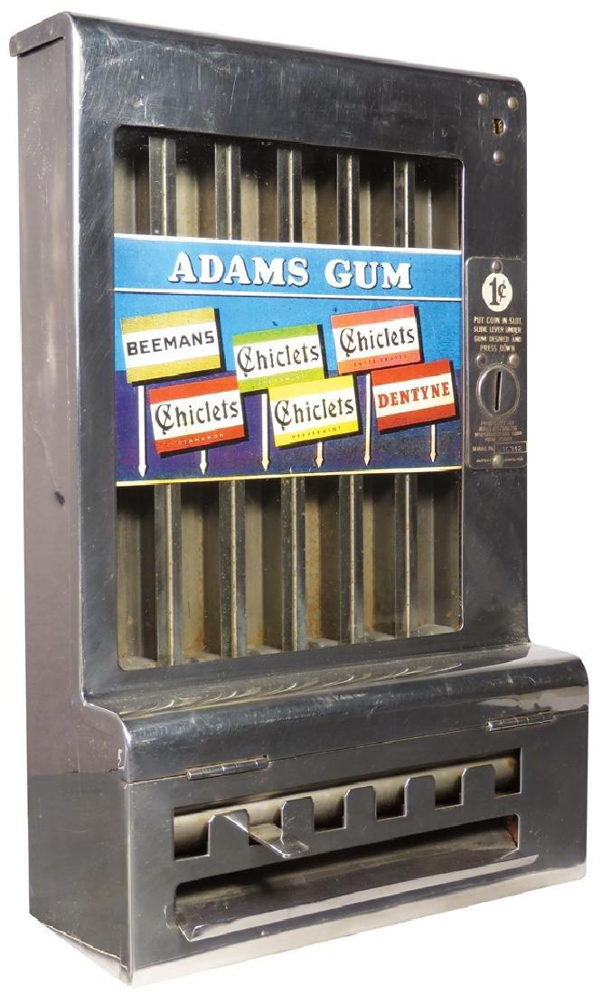 Adams Gum Vending Machine