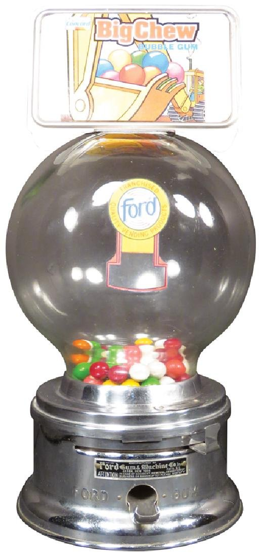 Ford Ball Gum Vendor