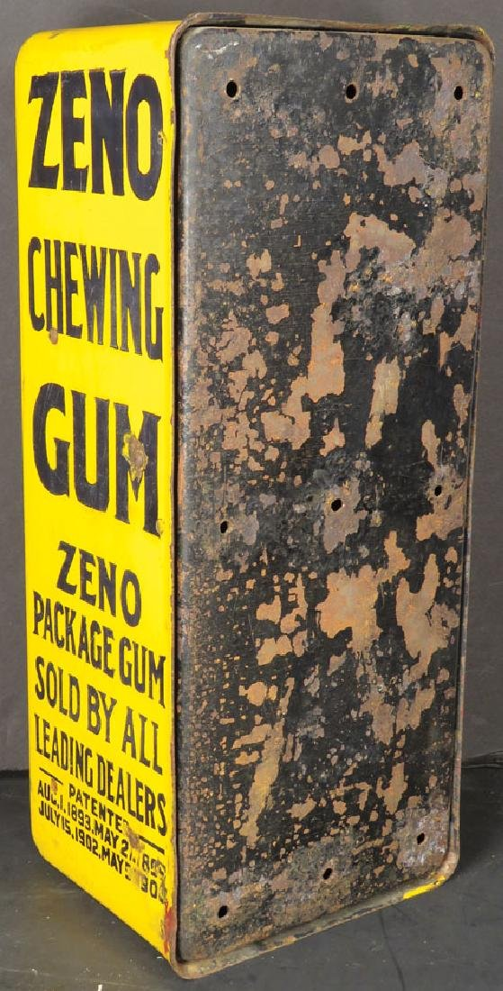 Zeno Chewing Gum Yellow Porcelain Dispenser - 2