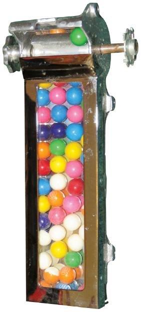 Q.T. Slot Machine Side Gumball Vendor