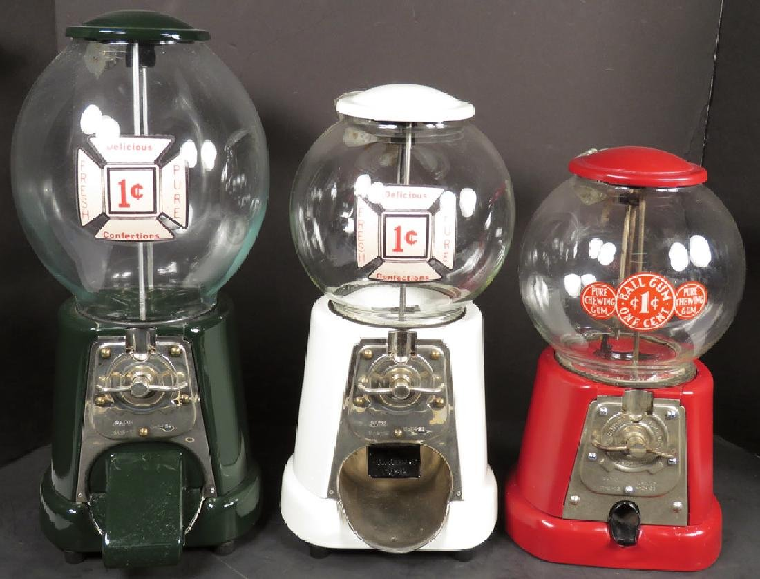 Collection of One Cent Vending Machines