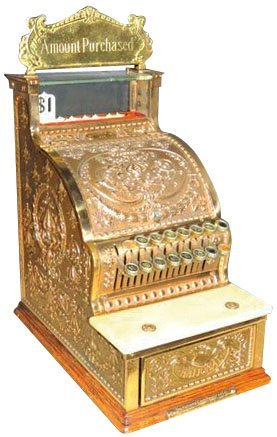 National Model 313 Candy Store Cash Register