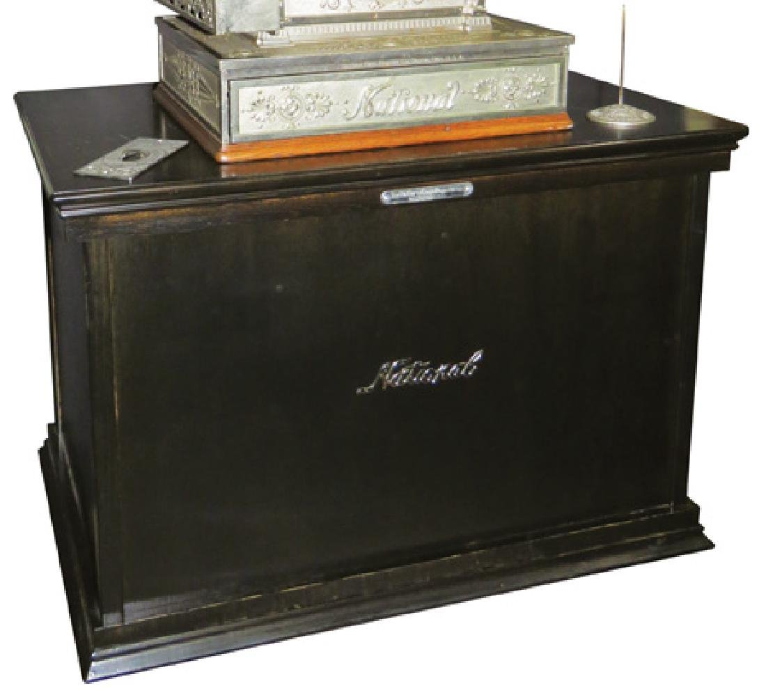 Contempory Black Base for Large Cash Register