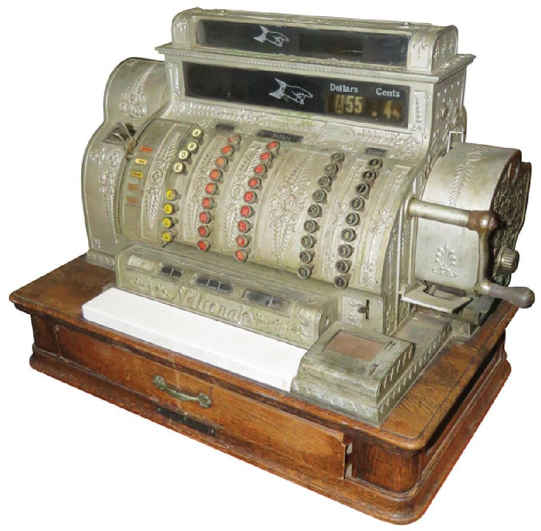 Large National Cash Register Model 542