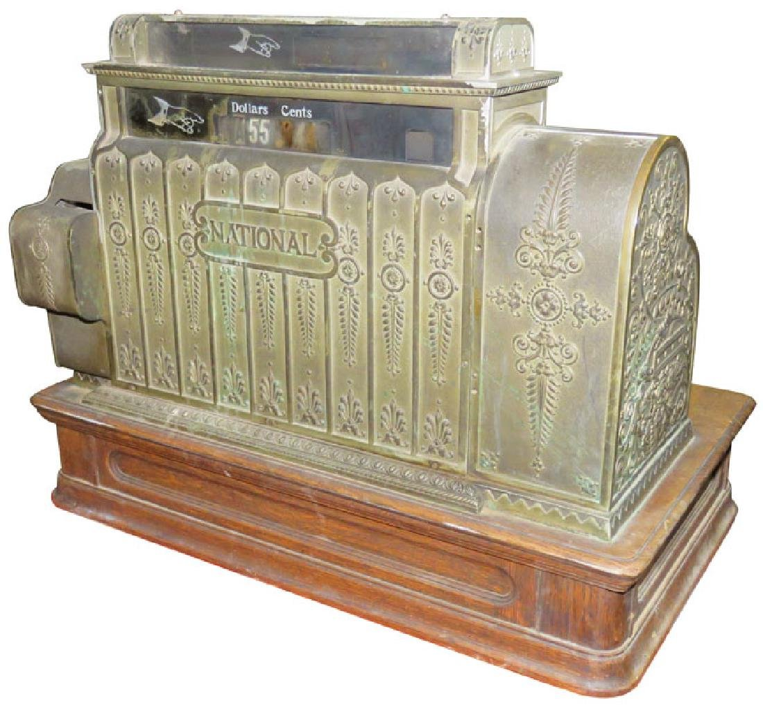 Large National Cash Register Model 542 - 2