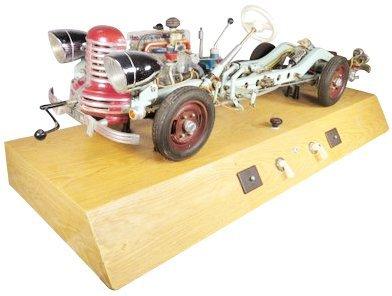 HOHM German School Training Model Car