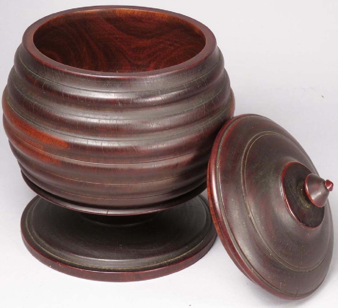 Antique Wood Tobacco Humidor