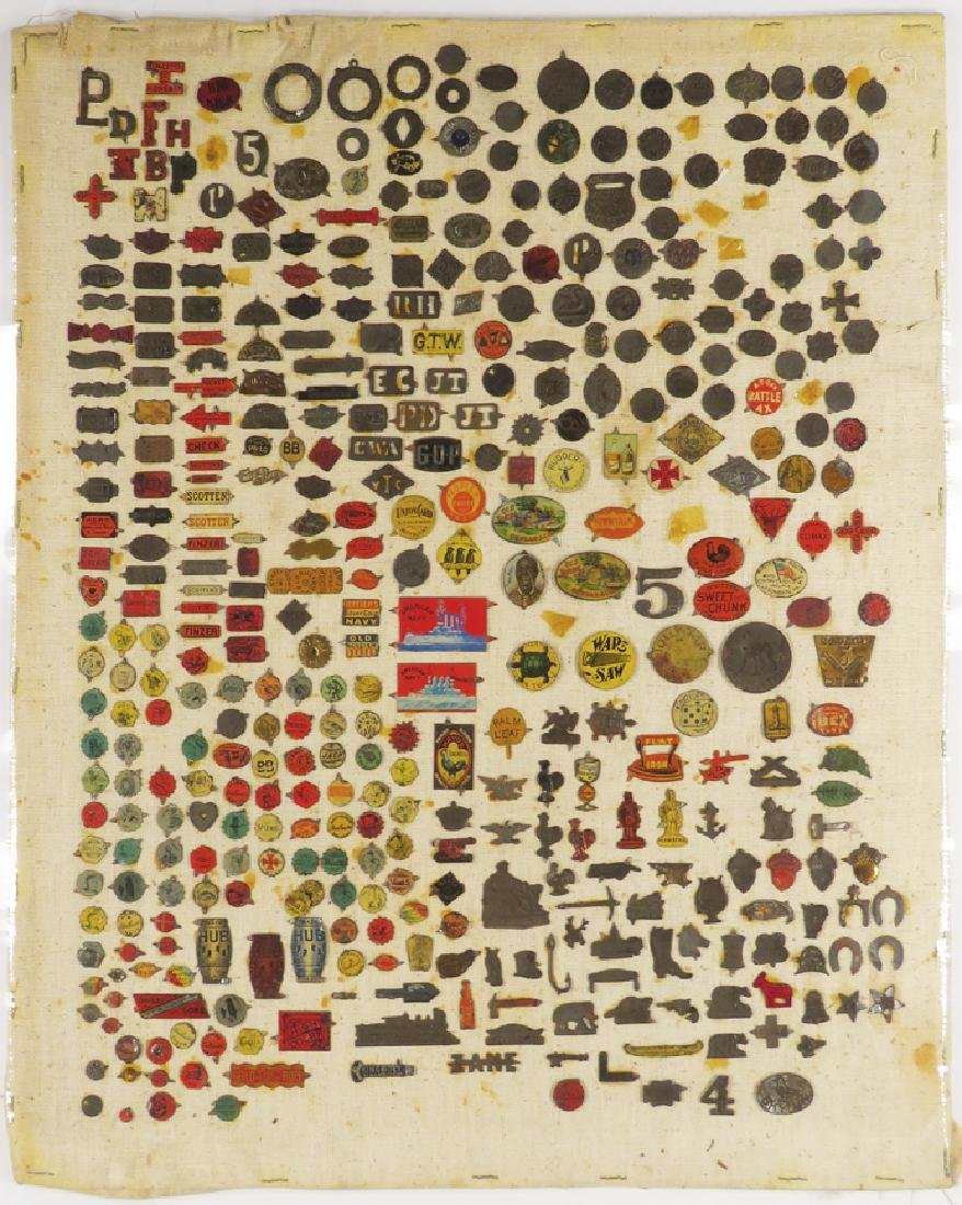 Collection of Antique Tobacco Tags