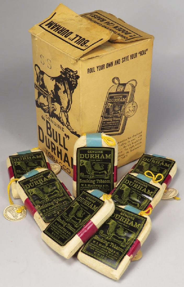 Bull Durham Store Box with 7 Pouches