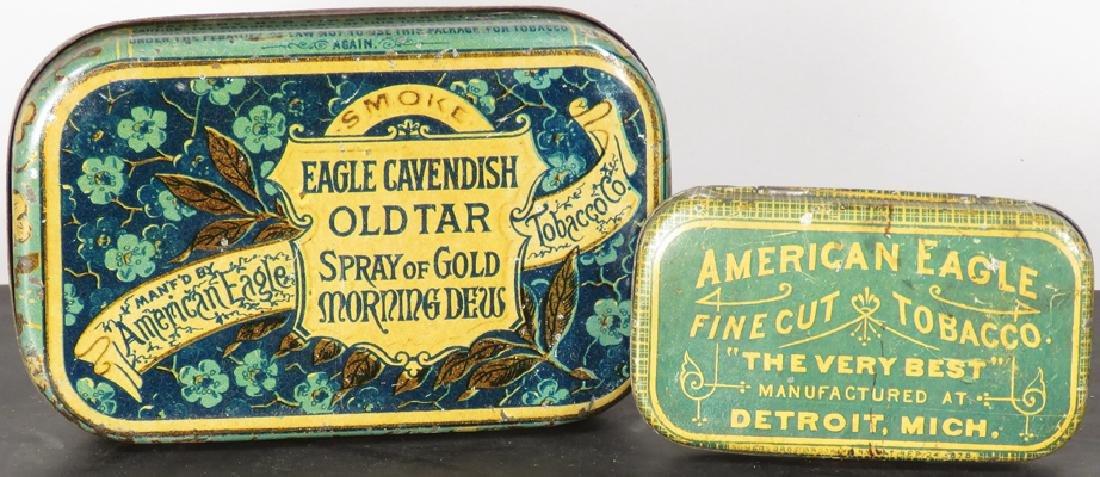 American Eagle Tobacco Tins, Detroit - 2