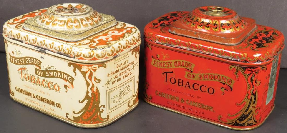 Cameron & Cameron Dome Top Tobacco Tins - 2