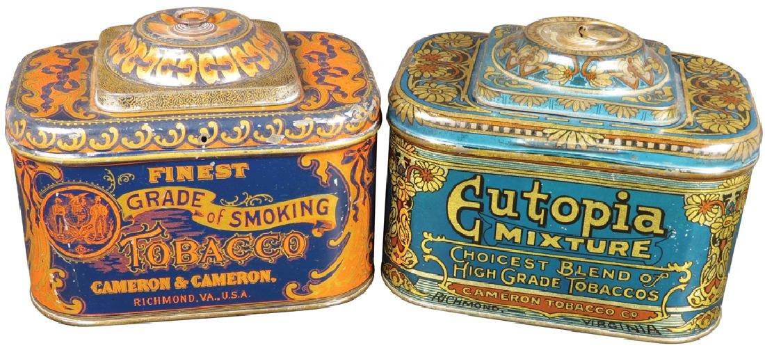 Cameron & Cameron Dome Top Tobacco Tins