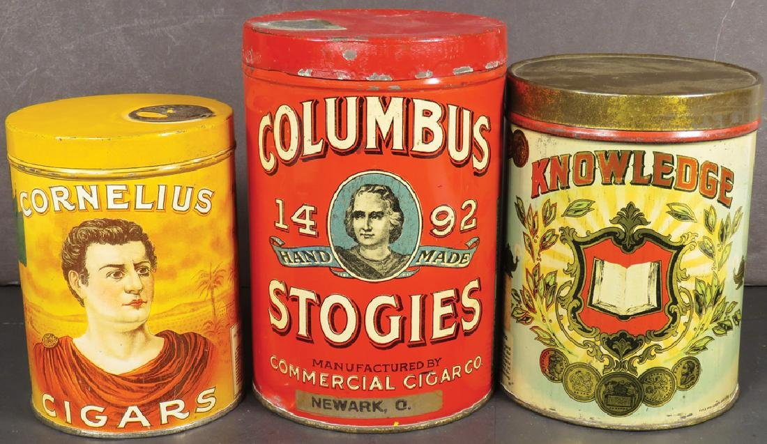 Collection of Three Cigar Tins - 2