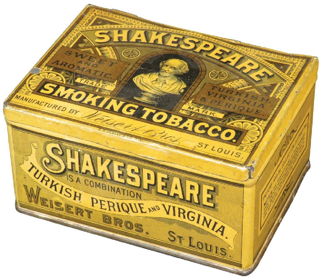 Shakespeare Square Corner Tobacco Tin