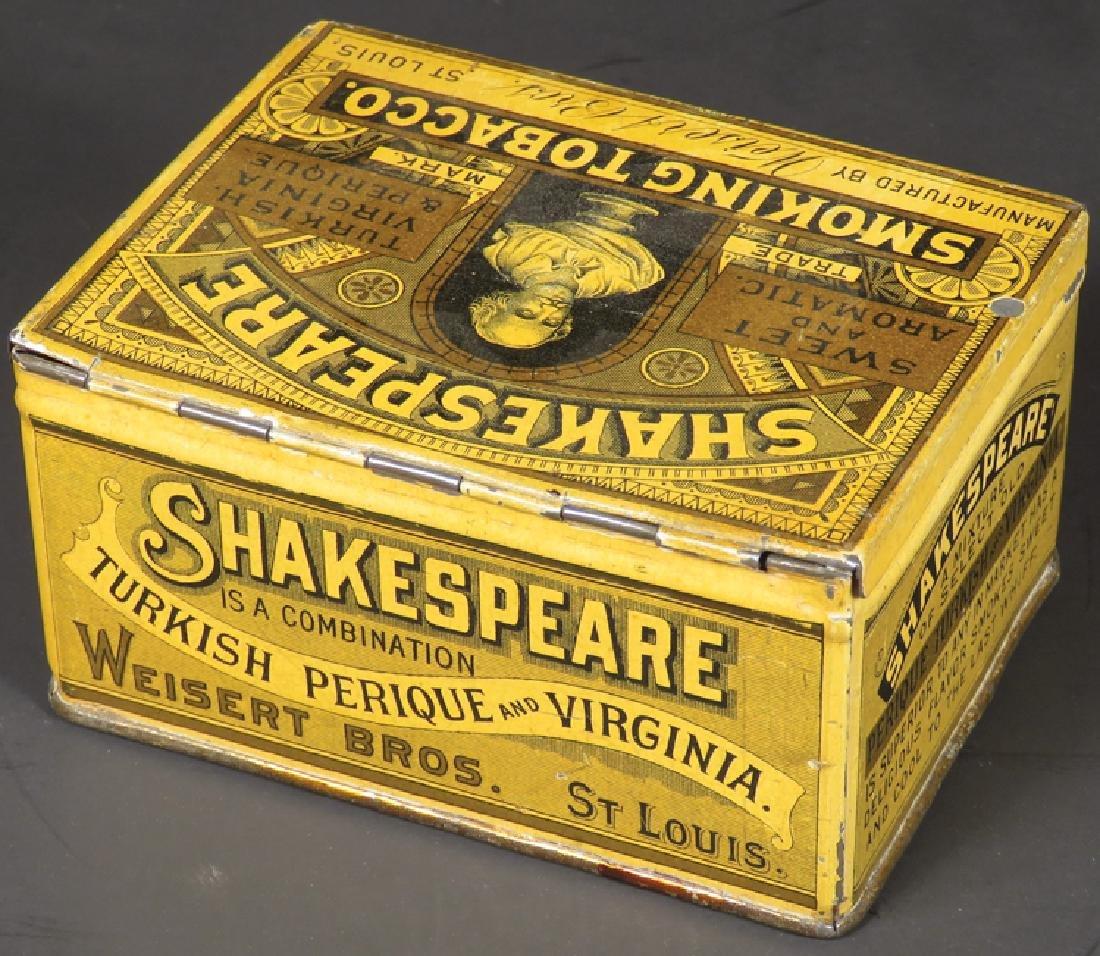 Shakespeare Square Corner Tobacco Tin - 2