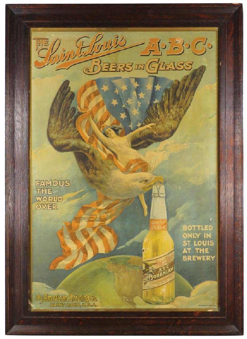 The American Brewing Co. Cardboard Sign