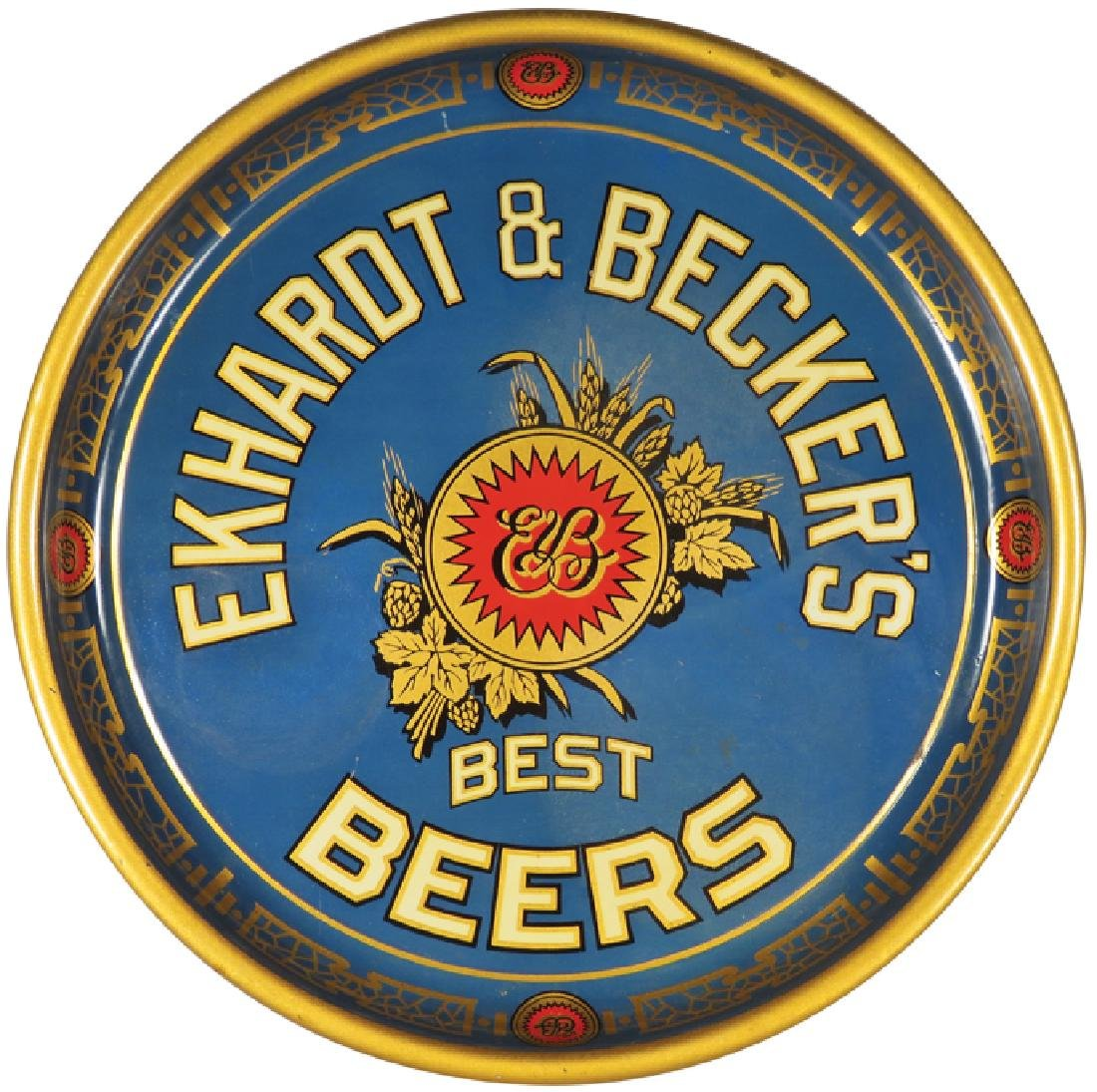 Ekhardt & Becker's Detroit Tin Serving Tray