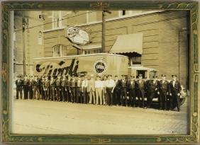 Early Original Photo Tivoli Brewing Co.
