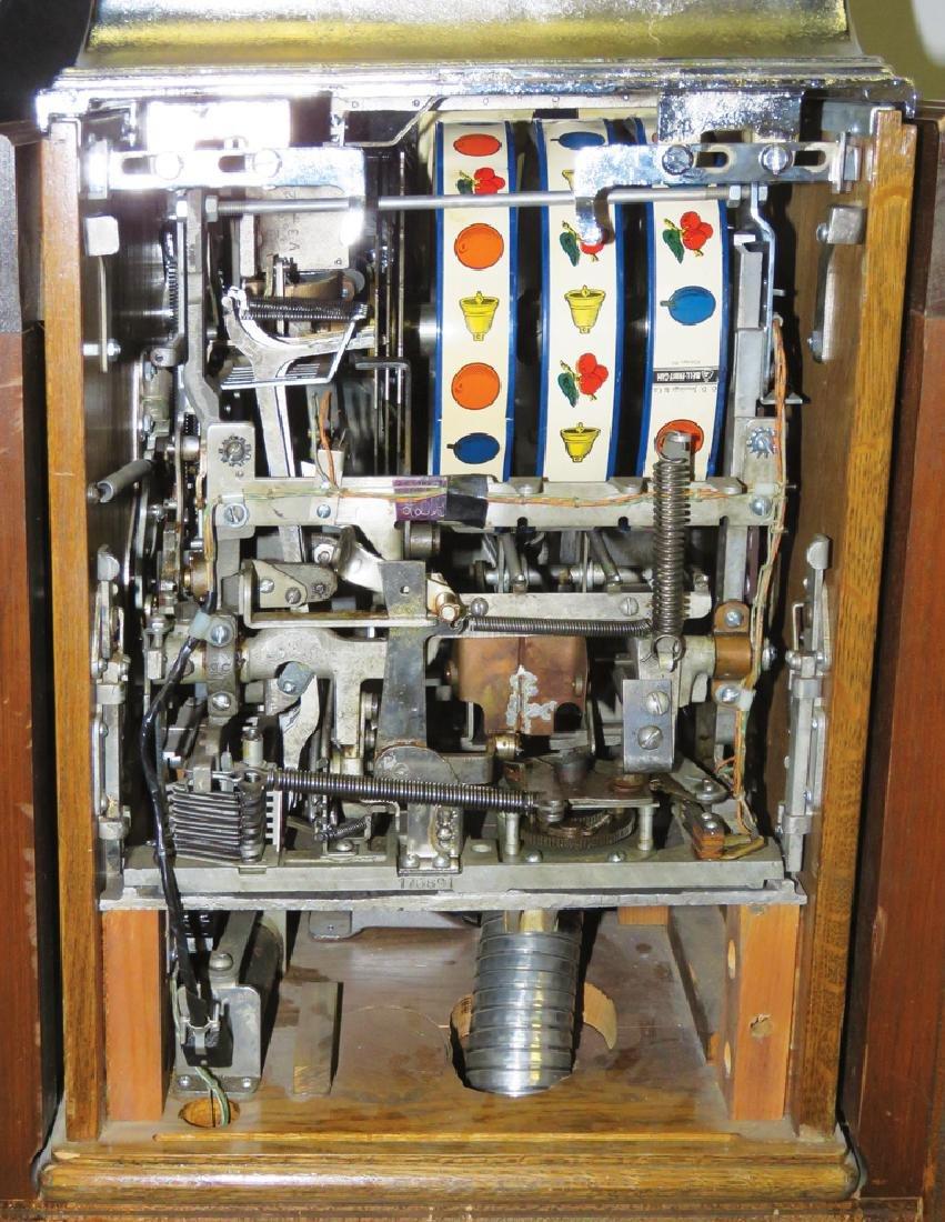 Jennings Silver Dollar Console Slot Machine - 4