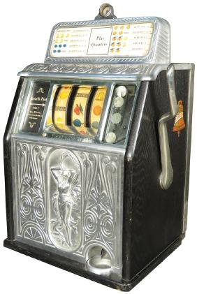 Caille 25 Cent Superior Bell Slot Machine