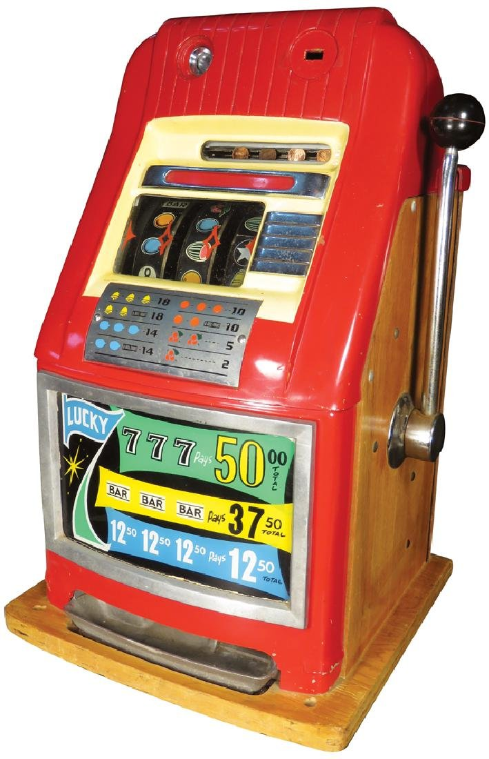 Mills Hi-Top Lucky 7 Electric Slot Machine