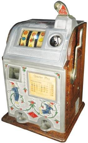 Jennings 25 Cent Jackpot Bell Slot Machine