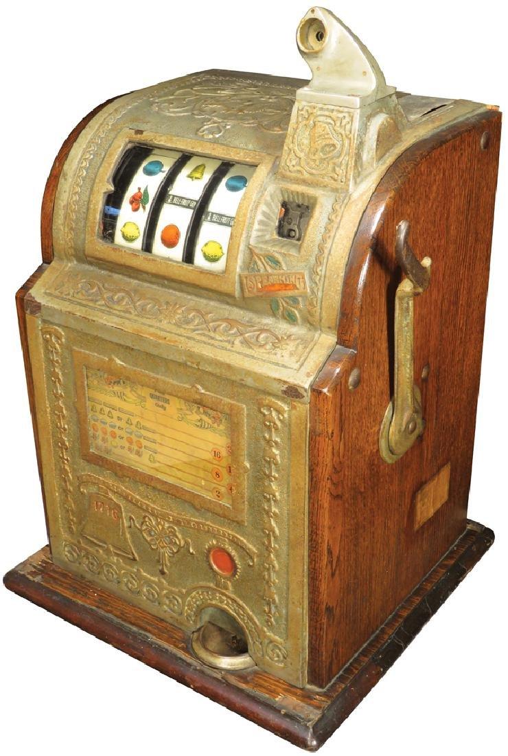 Mills 25 Cent Liberty Bell Slot Machine