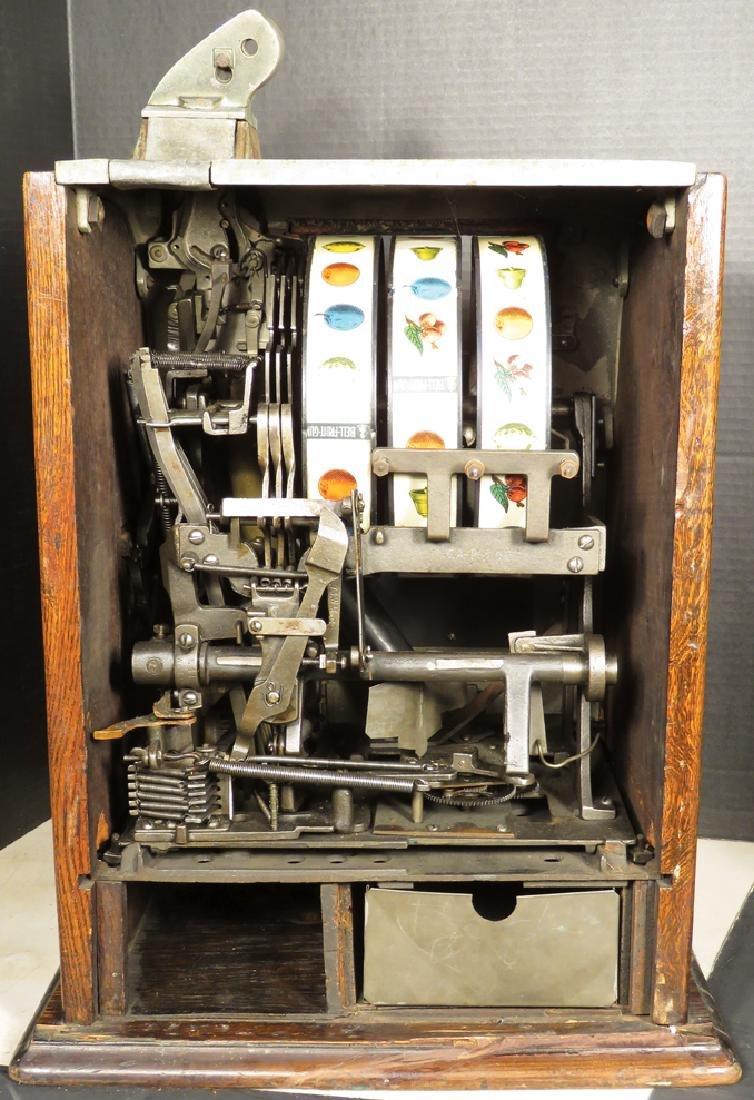 Mills 25 Cent Liberty Bell Slot Machine - 3
