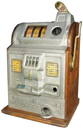 Jennings 10 Cent Cast Front Slot Machine