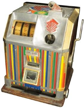Jennings 10 Cent Star Brand Slot Machine