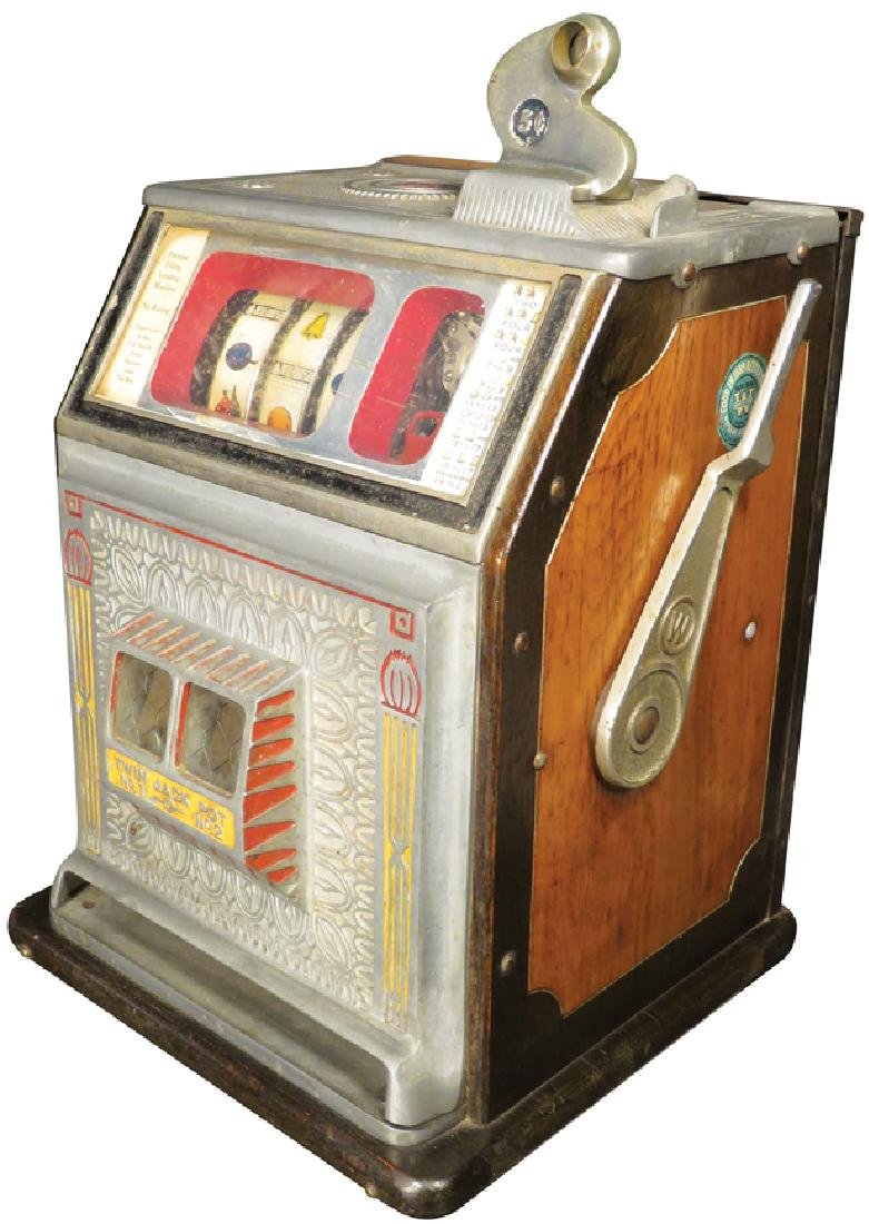Watling 5 Cent Torch Front Slot Machine