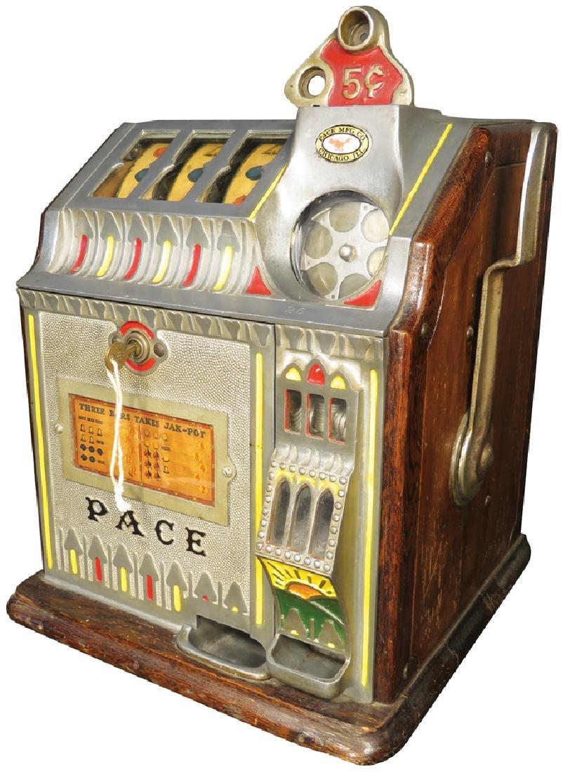 Pace MfG Co. 5 Cent Bantam Slot Machine