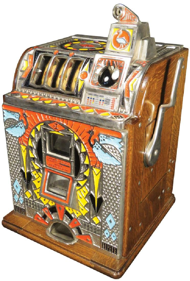 Jennings 10 Cent Victoria Silent Slot Machine