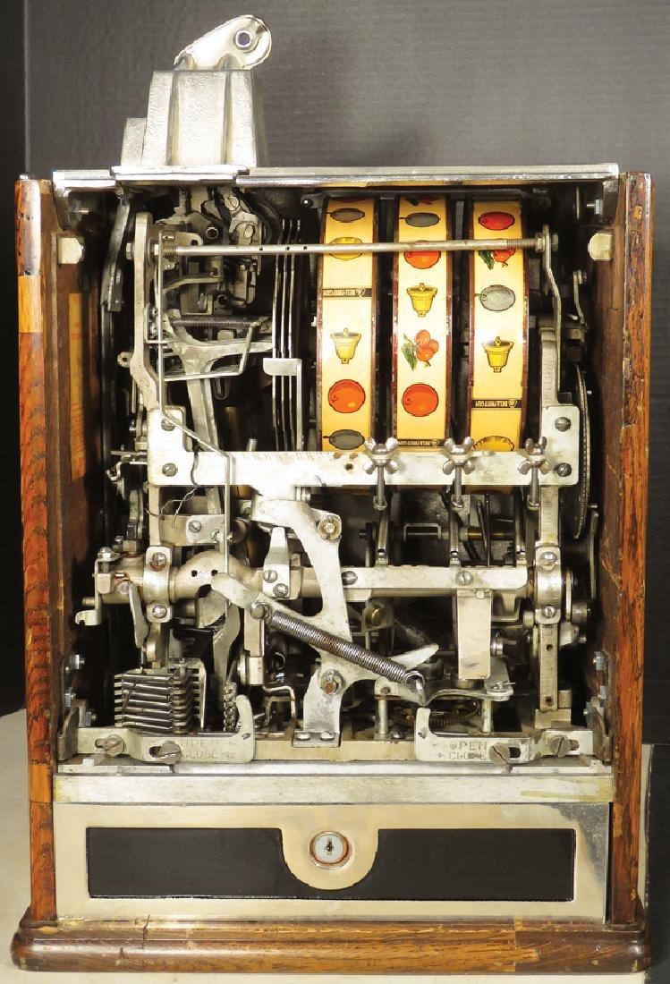 Jennings 10 Cent Victoria Silent Slot Machine - 3