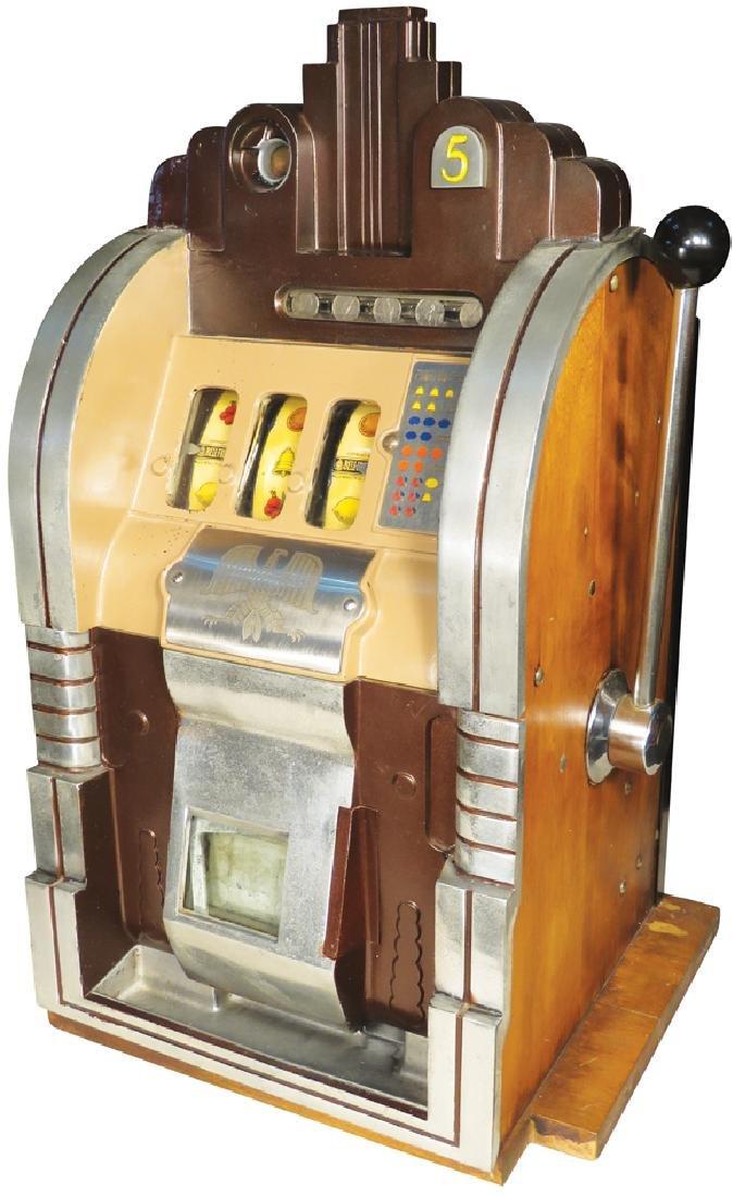 Mills Novelty Co. 5 Cent Eagle Slot Machine