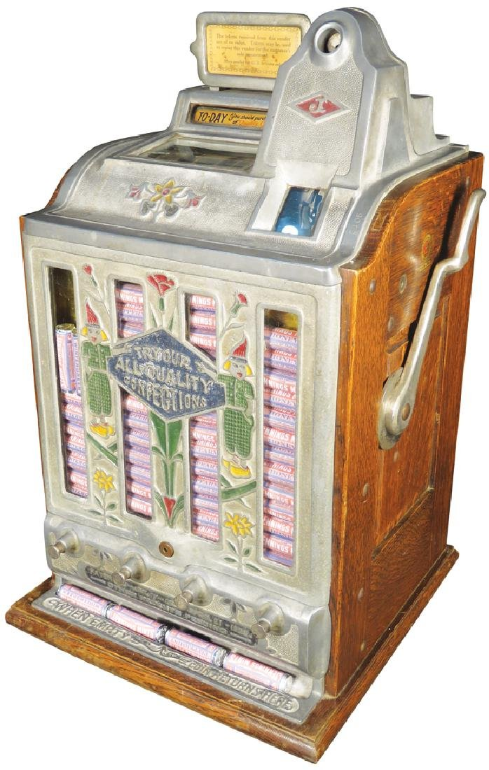 Jennings 5 Cent Mint Vendor Slot Machine