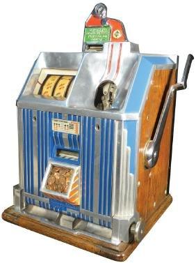 Jennings 1 Cent Duchess Slot Machine
