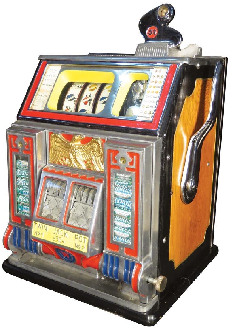 Watling 5 Cent Treasury Slot Machine