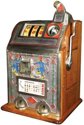 Jennings 1929 Jackpot Bell 5 Cent Slot Machine